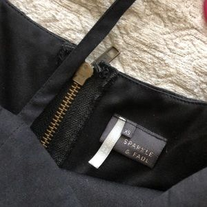 Sparkle & Fade Dresses - Little black dress XS cutout Urban Outfitters